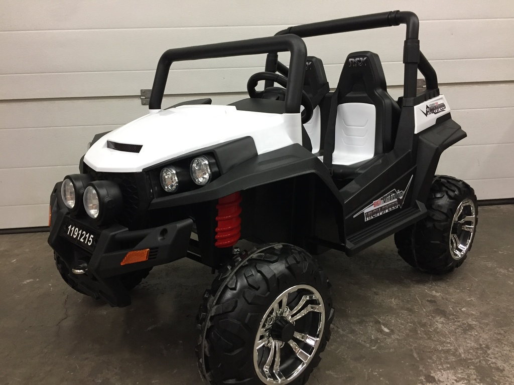 Buggy électrique V-TWIN 4×4 (2 places) - blanc