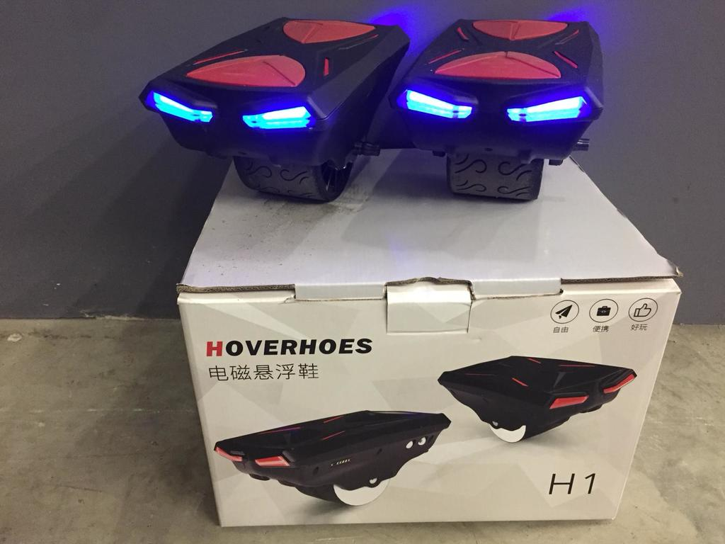 Hovershoes, Roller électrique, Electric Shoes - rouge