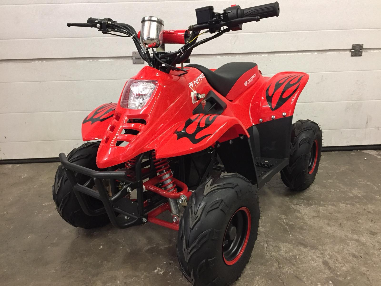 QUAD BIGFOOT ELECTRIQUE - rouge
