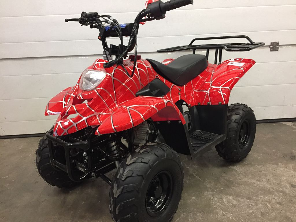 Quad tao motors bulder 110cc - rouge spider